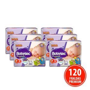 Kit 120 Fraldas Babysec Galinha Pintadinha Premium P | R$ 54