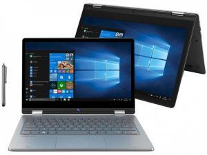 "Notebook 2 em 1 Positivo Duo C464C Intel Celeron-4GB 64GB 11,6"" Touch Screen Full HD Windows 10 - R$1438"