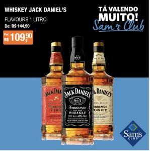 [SamsClub] Whisky JackDaniels Sabores - R$110