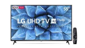 "Smart TV LED 55"" UHD 4K LG 55UN7310PSC - R$2599"