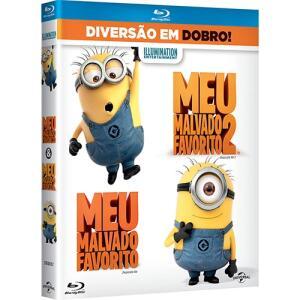 Blu-ray Meu Malvado Favorito + Meu Malvado Favorito 2 (2 discos) - R$5