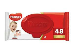 (AMAZON) Huggies Lenços Umedecidos Supreme Care, 48 toalhas | R$25 (4 unid)