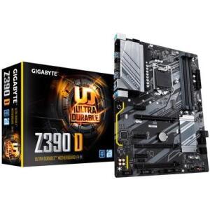 Placa-Mãe Gigabyte Z390 D, Intel LGA 1151, ATX, DDR4 - R$950