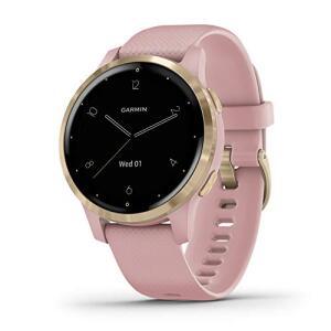 Smartwatch Garmin Vivoactive 4S Dourado Rosê - R$2360