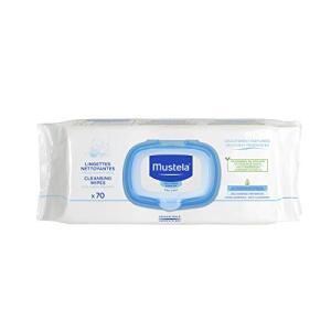 [PRIME + Rec] Lenços Umedecidos Mustela - 70 unidades | R$13