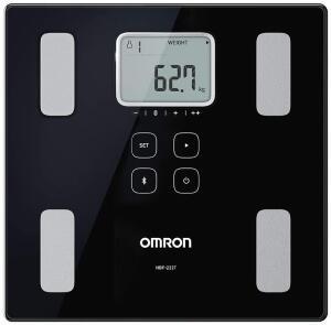 [PRIME] Balança de Controle Corporal com Bluetooth HBF-222T, Omron, Preta | R$330