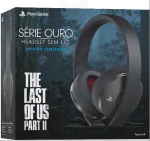 [Boleto] Headset Sem Fio Série Ouro Edição Limitada The Last Of Us Part II | R$337