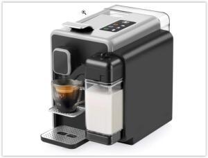 Cafeteira Espresso TRES Barista Multipressão - Prata | R$ 570