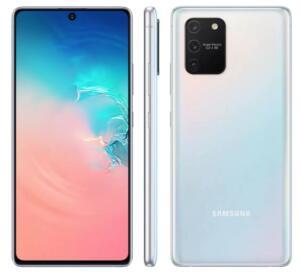 Smartphone Samsung Galaxy S10 Lite Branco 128GB, 6GB RAM | R$1.999