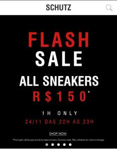 [Flash Sale] Todos os Sneakers por R$150   Schutz