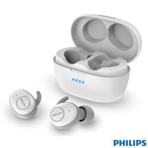 Fone de Ouvido Philips TWS Upbeat Intra-auricular Branco | R$283