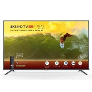 "[PAYPAL ATÉ 12x] Smart TV TCL 50"" LED UHD 4K Android Tv P8M | R$1799"