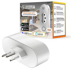 Tomada Inteligente Smart Plug Wi-Fi RSmart 10A | R$80
