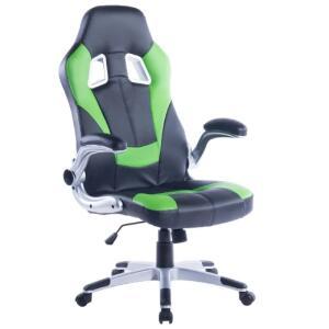 Cadeira Gamer Charlotte Preta e Verde | R$450
