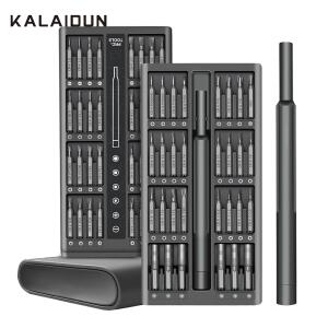 Kit de Chaves de Precisão 63 in 1 - Kalaidun (Cromo vanádio)   R$73