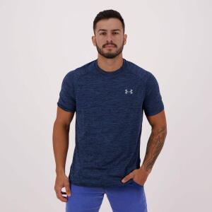 Camiseta Under Armour Tech Tee Twist Marinho | R$ 60
