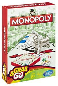 Hasbro Gaming Jogo Gaming Monopoly Grab & Go | R$24
