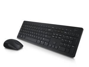 Teclado e Mouse Sem Fio KM636 - Preto | R$149