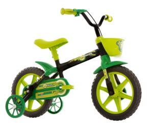 Bicicleta Infantil Aro 12 Track & Bikes Arco-Íris - Verde | R$129