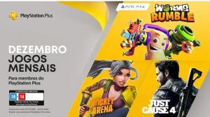 [PS PLUS] Jogos Grátis da PS Plus - DEZEMBRO 2020 [PS4 e PS5]