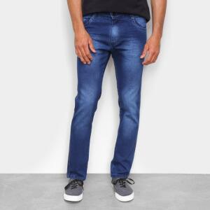 Calça Jeans Ecxo Masculina - Azul Escuro | R$34
