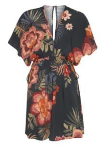Vestido Floral Artesanal Curto FARM | R$181