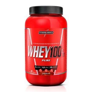 2 x Whey Protein Integral Médica 100% Pure Chocolate 907g - R$90