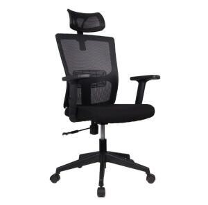 Cadeira Presidente Pelegrin PEL-2180 Tela Mesh Preta R$369