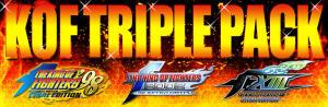 The King of Fighters Triple Pack com 50% de desconto - R$32