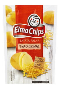 SC/PR Angeloni Batata Palha Elma Chips 110g [Leve 2 por 2,44 cada]