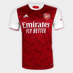 Camisa Arsenal Home 20/21   R$ 170