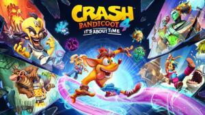 Crash Bandicoot 4: It's About Time -PS4 R$162