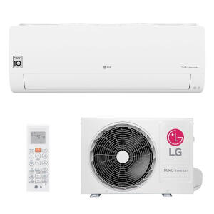 Ar Condicionado Split Hw Dual Inverter Voice Lg 12000 Btus Frio 220V Monofasico S4NQ12JA31C.EB2GAMZ R$1800