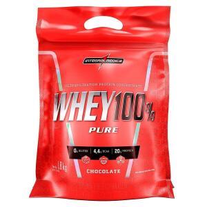 Whey Protein 100% Super Pure 1,8 Kg Body Size Refil - IntegralMédica R$120