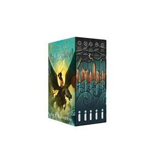 Box Percy Jackson e os Olimpianos: (Série Percy Jackson e os olimpianos) R$79