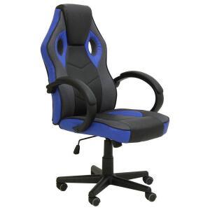 Cadeira Gamer Sports Galaxy - NCGGP - Preto / Azul | R$ 400