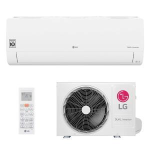 [AME R$ 1894] Ar Condicionado Split Hw Dual Inverter Voice Lg 12000 Btus Frio 220V Monofasico | R$ 1994