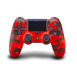 [CUPOM + AME] Joystick sem fio Sony Dualshock 4 red camouflage