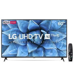 "Smart TV LED 60"" UHD 4K LG | R$ 3.099,00"