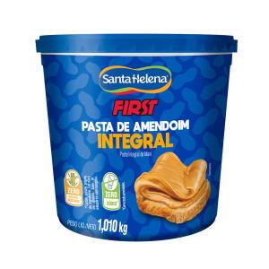 Pasta de amendoim Integral Santa Helena First 1,01Kg