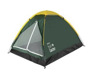 Barraca Camping Iglu 3 Bel Fix Verde/Amarelo | R$134