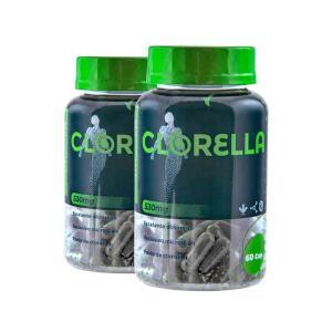Clorella Eleve Complemento Detox Tratamento 40 Dias | R$116