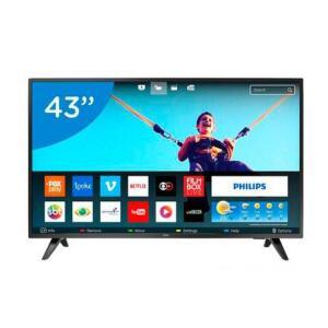 Smart TV LED 43 Philips   R$ 1439