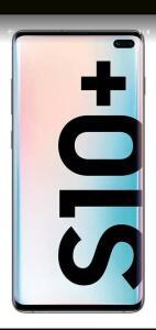 Samsung Galaxy S10+ Dual SIM 128 GB branco-prisma 8 GB RAM   R$ 2500