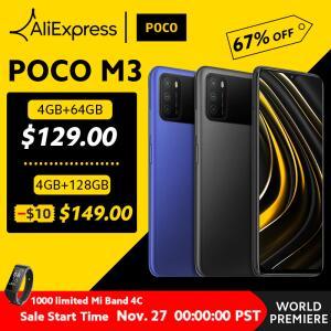 [Black Friday] Smartphone Poco M3 Snapdragon 4GB + 64GB | R$832