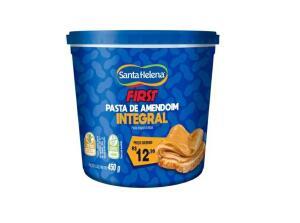 Pasta de Amendoim integral Santa Helena | R$6