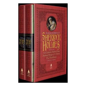 [C. Sub] As Novas Aventuras de Sherlock Holmes - Caixa | R$63