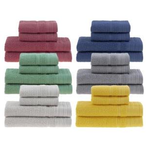 Jogo de toalhas Buddemeyer Olímpia Banho 4 peças | R$ 70