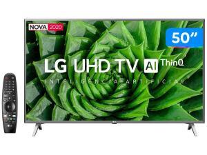 "Smart TV UHD 4K LED 50"" LG 50UN8000PSD"