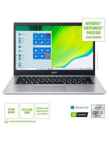 Notebook Acer Aspire 5 A514-53G-571X Intel Core I5 8GB 512GB SSD MX 350 14` Windows 10 | R$ 3699